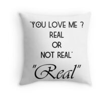 Hunger Games : Real or Not Real Throw Pillow