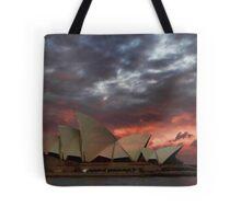 Opera House Sunset Tote Bag