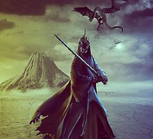 The Witch King of Angmar by Emma Wright