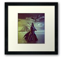 The Witch King of Angmar Framed Print