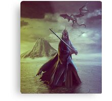 The Witch King of Angmar Metal Print