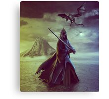The Witch King of Angmar Canvas Print