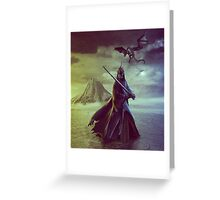 The Witch King of Angmar Greeting Card