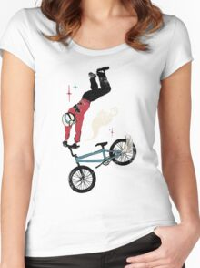 Handle Banshee Women's Fitted Scoop T-Shirt