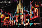 Crowds at the Museum - Vivid Sydney 2012 by yolanda