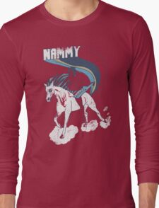 Nammy: Queen of the Stallions Long Sleeve T-Shirt