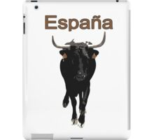 Espana, Spain, bull iPad Case/Skin