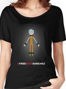 FREE RICK SANCHEZ Women's Relaxed Fit T-Shirt