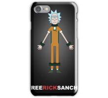 FREE RICK SANCHEZ iPhone Case/Skin