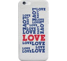 Love ink iPhone Case/Skin