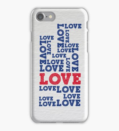 Love ink iPhone Case/Skin