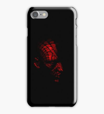 Red android iPhone Case/Skin