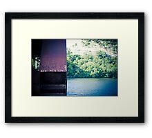 Pennybacker Bridge Framed Print