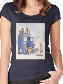 Doctor Pooh Women's Fitted Scoop T-Shirt