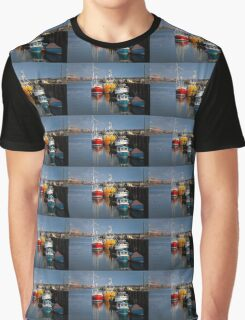 Fishing boats in harbour Graphic T-Shirt