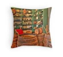 Old Country Store 2 Throw Pillow