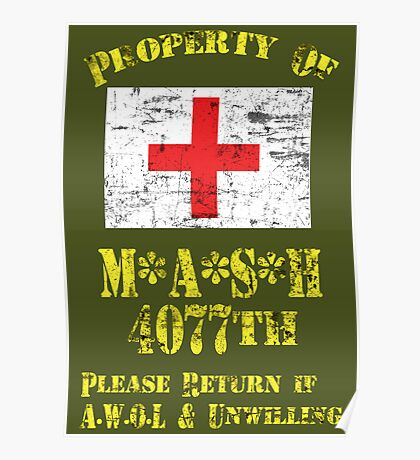 Property Of Mash 4077th Poster