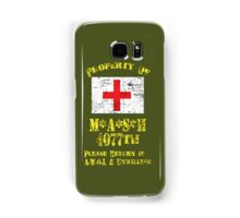 Property Of Mash 4077th Samsung Galaxy Case/Skin