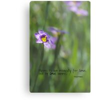 No Remedy for Love Metal Print