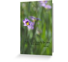 No Remedy for Love Greeting Card