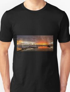 Sunset Storm - Raby Bay Qld Australia Unisex T-Shirt