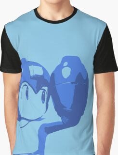 The Blue (and cyan) Bomber Graphic T-Shirt