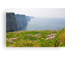The Ireland Series-The Cliffs of Moher Canvas Print