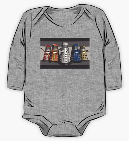 5 Shades of Dalek One Piece - Long Sleeve