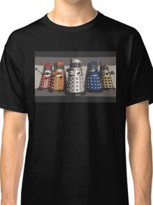 5 Shades of Dalek Classic T-Shirt