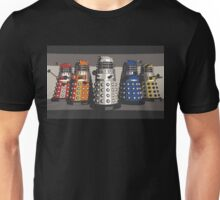 5 Shades of Dalek Unisex T-Shirt
