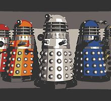 5 Shades of Dalek by Connor Keane