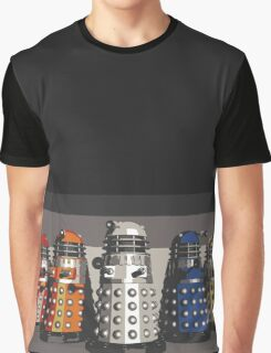 5 Shades of Dalek Graphic T-Shirt