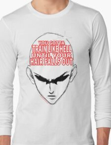 One Punch Man - Until Your Hair Falls Out Long Sleeve T-Shirt