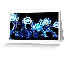 Mega-Man Generations Greeting Card