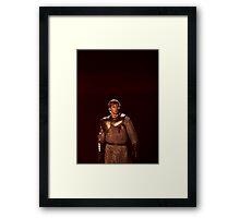 Arthur The Dark Knight Framed Print