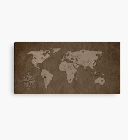 Nine holds of Earth Canvas Print