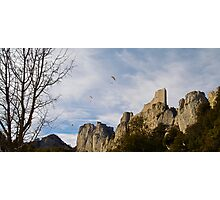 "Cathar Castle ""Perypertuse"" Photographic Print"