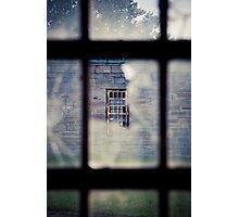 Through Glass Photographic Print