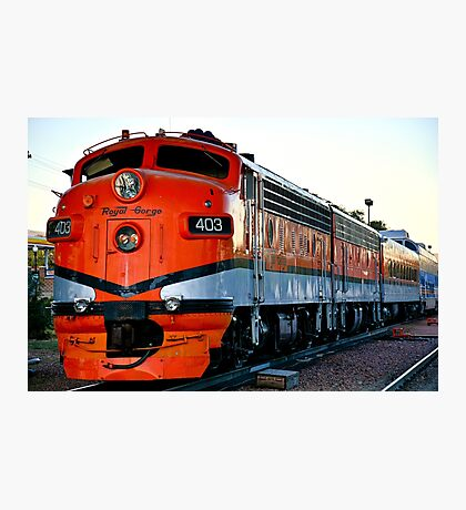 Royal Gorge Engine 403 Photographic Print