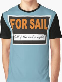 For Sail Graphic T-Shirt
