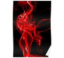 Red Smoke Poster