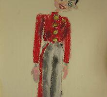 soldier pelham puppet by Alfred Gillespie