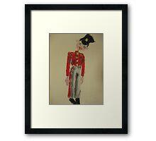 soldier pelham puppet Framed Print