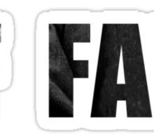 SUICIDE OF FAKE GENIUS Sticker