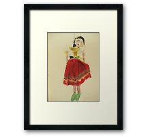 gypsy pelham puppet Framed Print