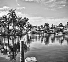 Canal B/W by Adam Northam