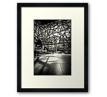 Melbourne Atrium Afternoon Sun Framed Print