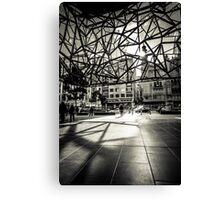 Melbourne Atrium Afternoon Sun Canvas Print
