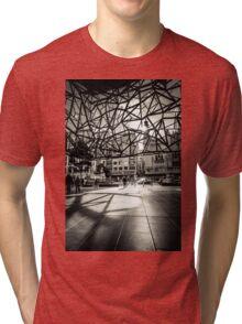 Melbourne Atrium Afternoon Sun Tri-blend T-Shirt