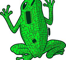 Circuit Frog by LudlumDesign